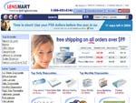 LensMart contact lenses online stores screenshot